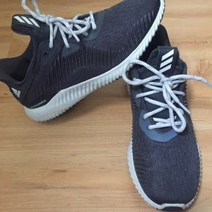 Gray women's adidas shoes size 6